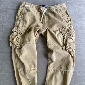 Distressed Cargo Joggers